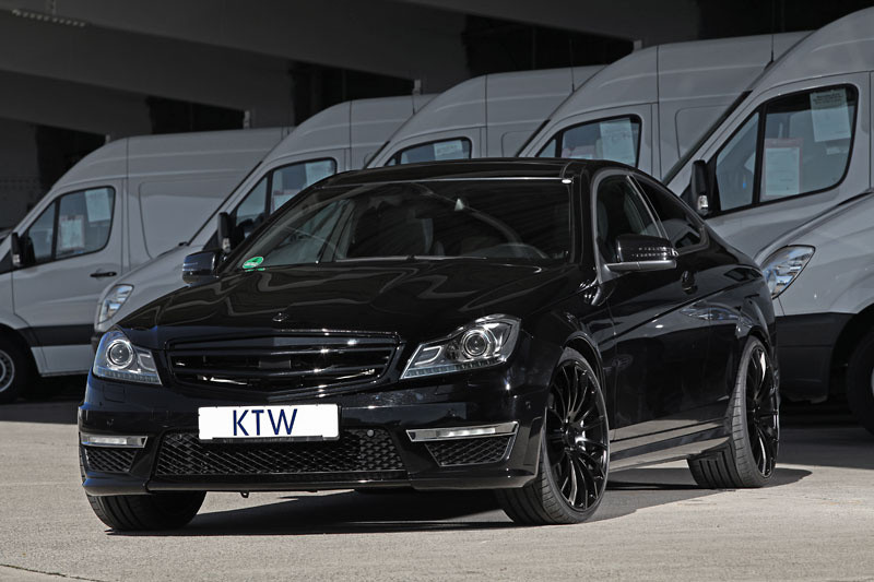mercedes c63 amg coupe by ktw tuning. Black Bedroom Furniture Sets. Home Design Ideas