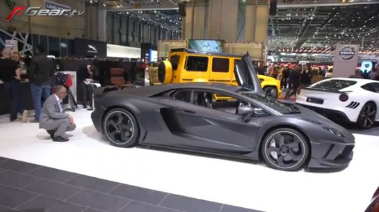 Kourosh Mansory Geneva 545x305 at Kourosh Mansory Explains His Cars at Geneva   Video