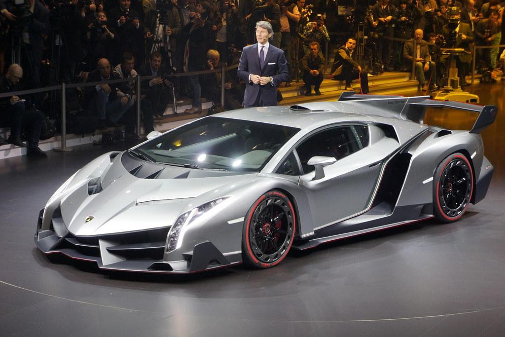 Lamborghini Veneno 2013 Front Vi…