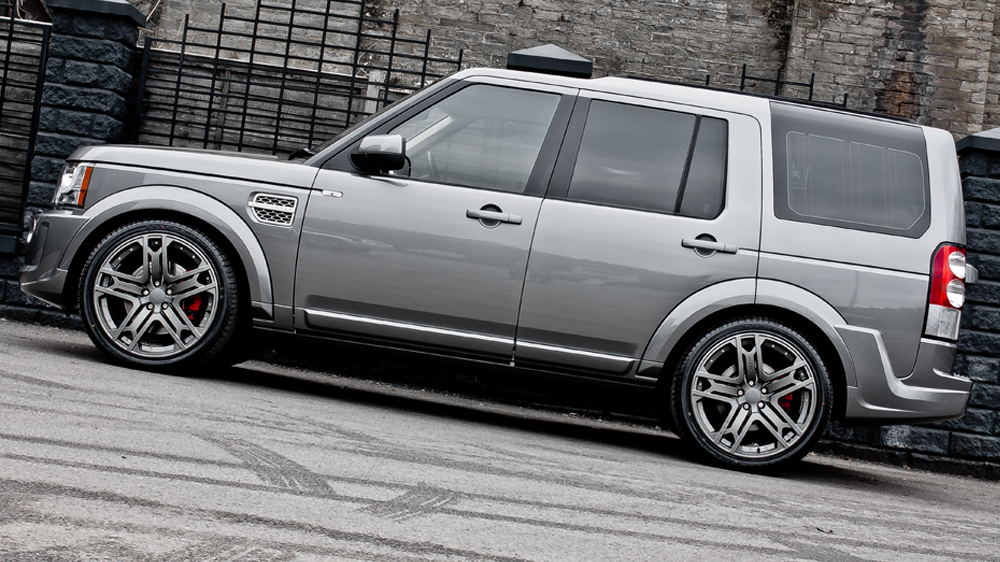 Kahn Design Land Rover Discovery Stornoway Grey