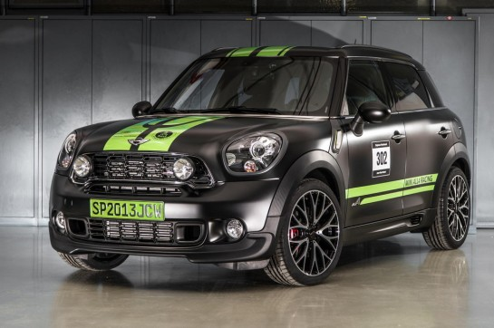 MINI Countryman JCW ALL4 Dakar 1 545x362 at MINI Countryman JCW ALL4 Dakar Edition