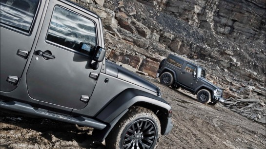Matte Grey Jeep Wrangler 2 545x306 at Matte Grey Jeep Wrangler by Kahn Design