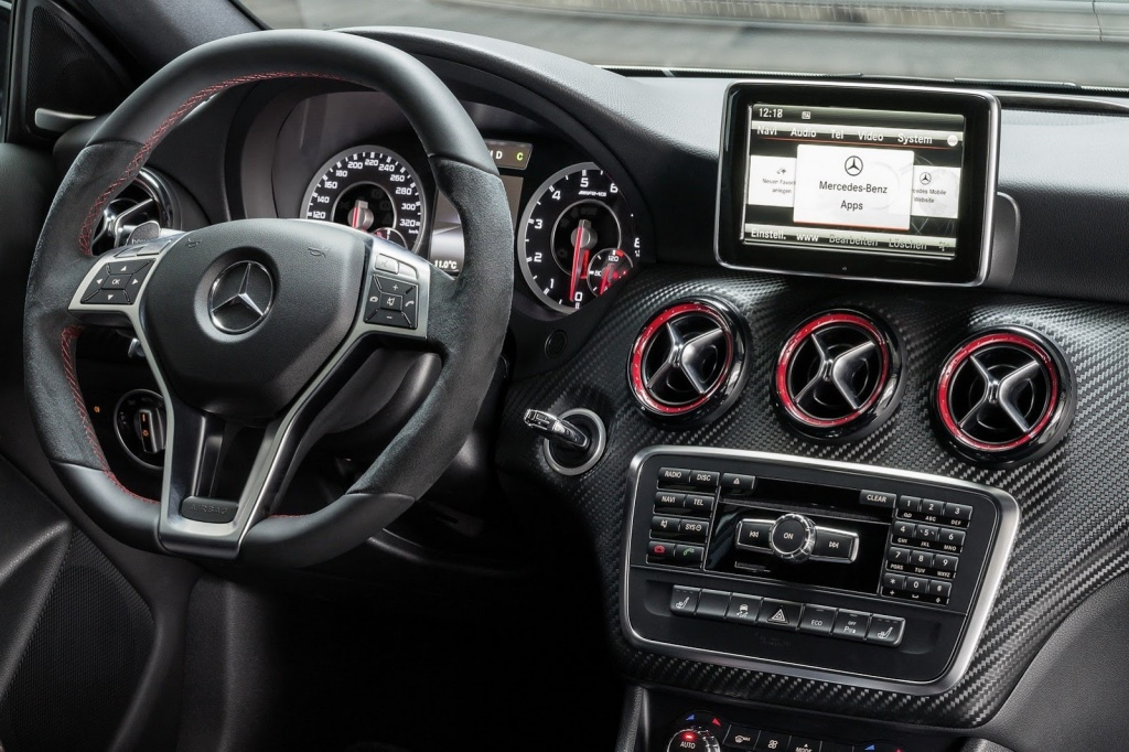 2013 Geneva Mercedes A45 AMG Edition 1