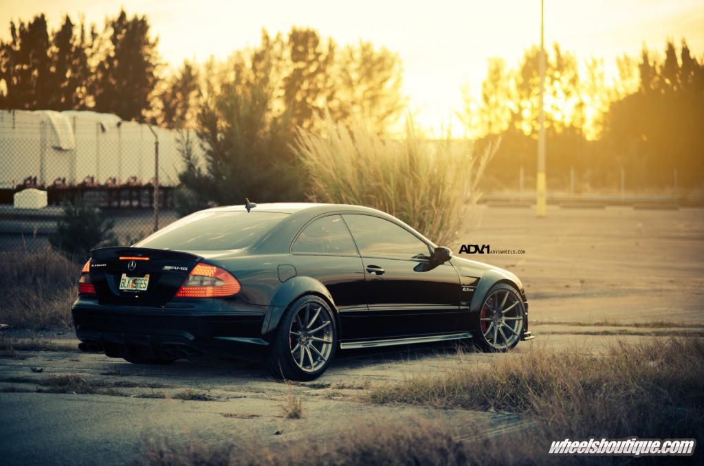 Gallery: Mercedes CLK63 Black Series on ADV1 Wheels