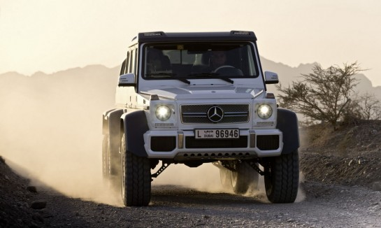 Mercedes G63 AMG 6x6 11 545x326 at Mercedes G63 AMG 6x6    New Pictures and Video