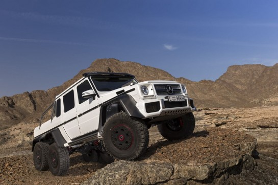 Mercedes G63 AMG 6x6 9 545x362 at Mercedes G63 AMG 6x6    New Pictures and Video