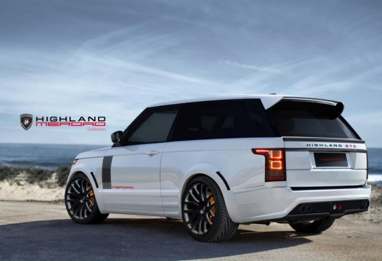 Merdad Highland GTC 2 545x373 at Merdad Highland GTC   New Two Door Range Rover
