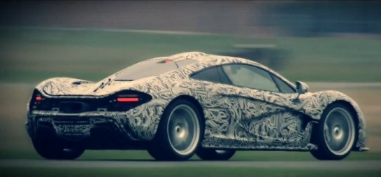 P1 test drive 545x253 at McLaren P1 Test Drive with Sergio Perez   Video
