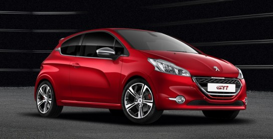 Peugeot 208 GTi 545x278 at Peugeot 208 GTi Teased in Promo Videos