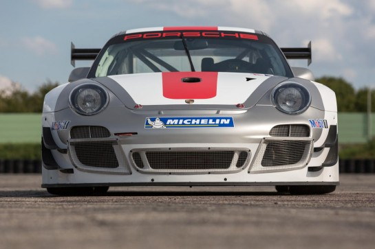 Porsche 911 GT3 R 1 545x363 at Updated Porsche 911 GT3 R (997) Announced