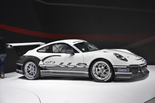 Porsche 991 GT3 2 545x363 at Porsche 991 GT3 Unveiling at Geneva   Video