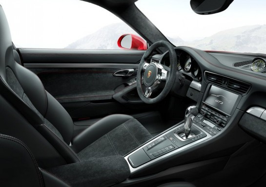 Porsche 991 GT3 Interior Design 545x384 at Porsche 991 GT3 Interior Design Explained in New Video