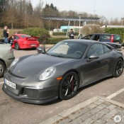 Porsche 991 GT3 Spotted 3 175x175 at Porsche 991 GT3 Spotted Out in the Wild