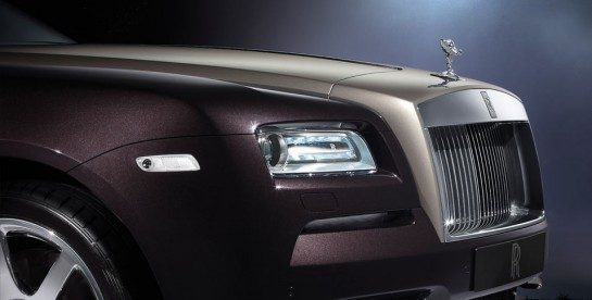 Rolls Royce Wraith Artsy 1 545x276 at Rolls Royce Wraith Showcased in Artsy Photos