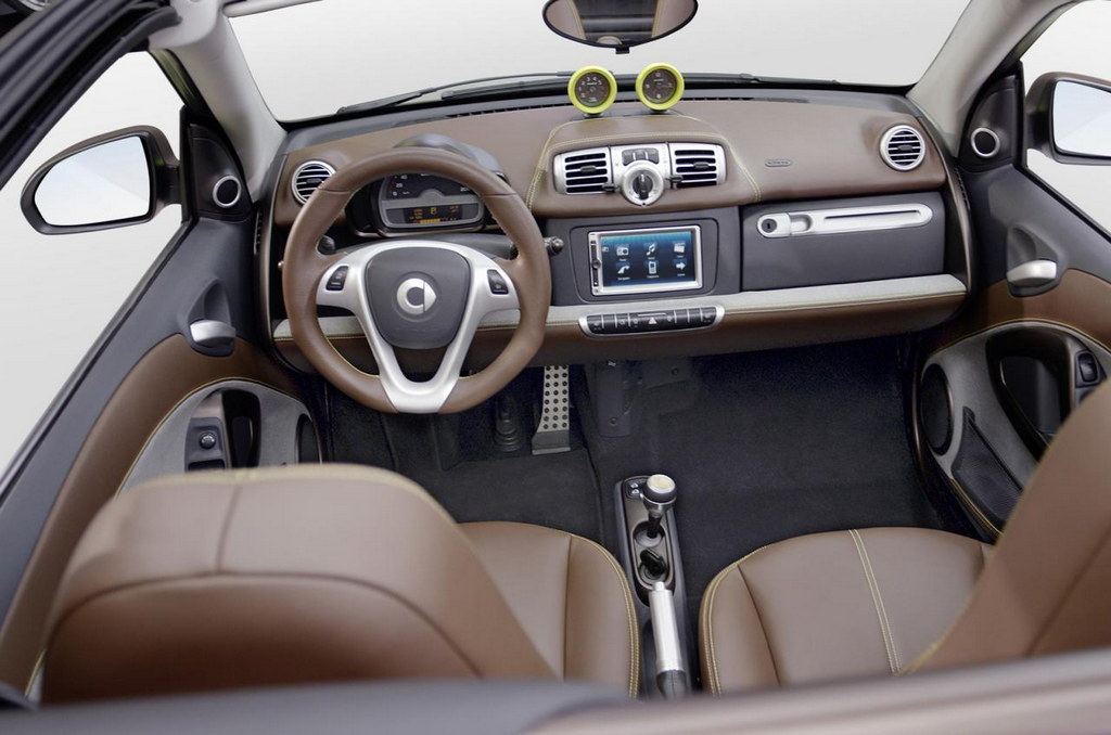 Geneva preview smart fortwo boconcept for Smart interieur