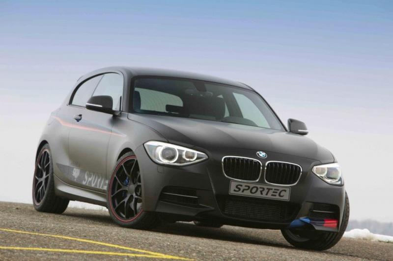 bmw m135i tuning kit by sportec. Black Bedroom Furniture Sets. Home Design Ideas