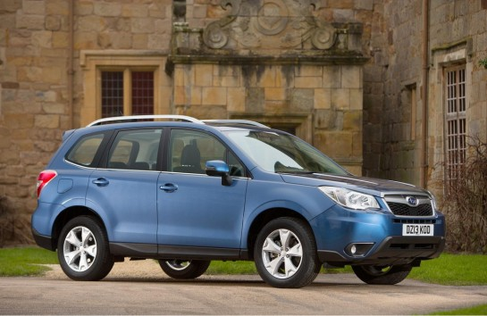 Subaru Forester UK 545x354 at 2014 Subaru Forester UK Pricing Announced
