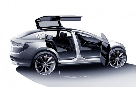 Tesla Model X 545x350 at Tesla Model X Delayed Due to Financial Reasons