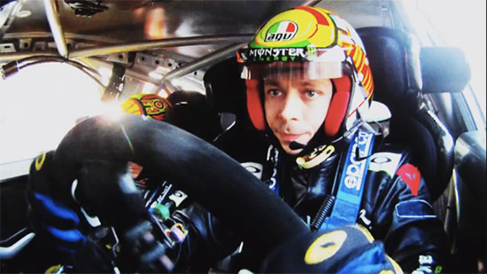 Valentino Rossi Rally at Valentino Rossi   When 2 Becomes 4