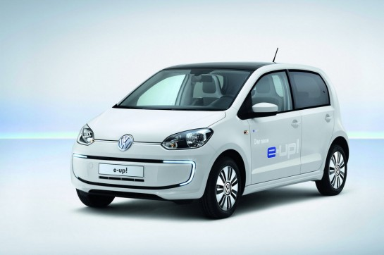 Volkswagen e UP 1 545x362 at Volkswagen e up! Announced with 150km Range