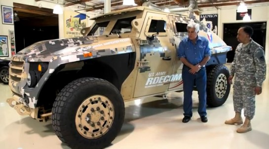 army FED 545x303 at US Army FED: Humvee Replacement at Jay Lenos Garage