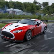 aston martin v12 zagato at the nurburgring front side 1 175x175 at Aston Martin History & Photo Gallery