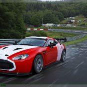 aston martin v12 zagato at the nurburgring front side 3 175x175 at Aston Martin History & Photo Gallery