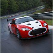 aston martin v12 zagato at the nurburgring front side 5 175x175 at Aston Martin History & Photo Gallery