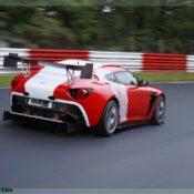 aston martin v12 zagato at the nurburgring rear side 2 1 175x175 at Aston Martin History & Photo Gallery