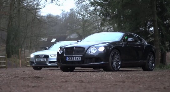 bentley and audi harris video 545x295 at Chris Harris Video: Bentley GT Speed & Some Audi S4