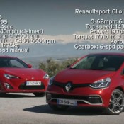 clio vs GT86 175x175 at LaFerrari Concept Manta at Ferrari Exhibition   Video