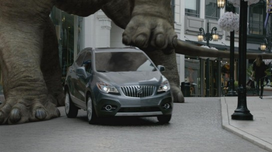 cq5dam.web .1280.1280 545x306 at Buick Encore Boasts Small Size in 'Dinosaur' Commercial