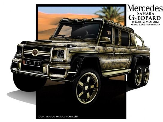 dartz g63 6x6 1 545x408 at Mercedes G63 AMG 6x6 by Dartz   Preview