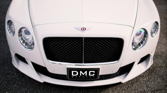 dmc bentley teaser 545x305 at DMC Bentley Continental GTC Duro Teased