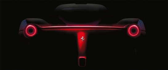 enzo replacement 2 at Ferrari F150 Tailpipes Revealed in New Teaser