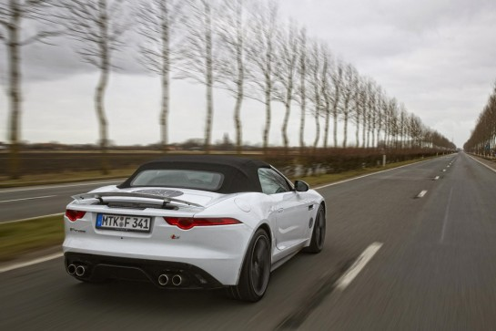 f type Zero 179 Zero 3 545x363 at Jaguar F Types Technical Features Showcased on Video