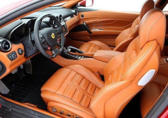 ferrari ff ipad 2 545x384 at Ferrari FF Gets Apple Goodies