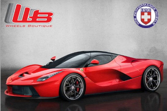 laferrari on HRE 545x361 at Ferrari LaFerrari Rendered on HRE Wheels