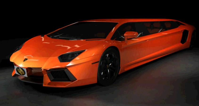 Lamborghini Aventador Stretch Limo Envisioned