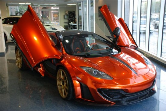 mansory 12C uae 0 545x364 at Gallery: Mansory McLaren 12C in Abu Dhabi