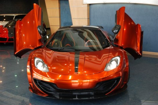 mansory 12C uae 1 545x364 at Gallery: Mansory McLaren 12C in Abu Dhabi