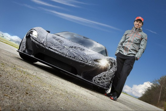 mcLaren P1 geneva 545x367 at Ron Dennis & Sergio Perez to Unveil McLaren P1 at Geneva