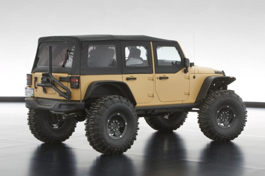 moab jeeps 0 545x363 at 2013 Moab Safari Concept Jeeps Revealed   Video