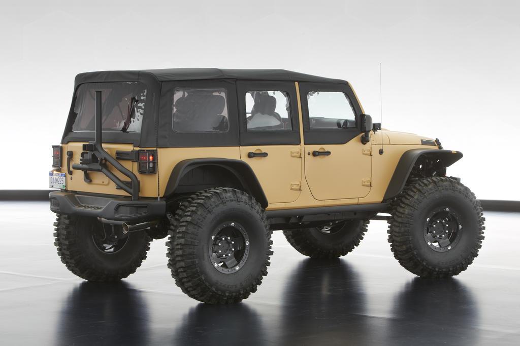 2013 Moab Safari Concept Jeeps Revealed Video