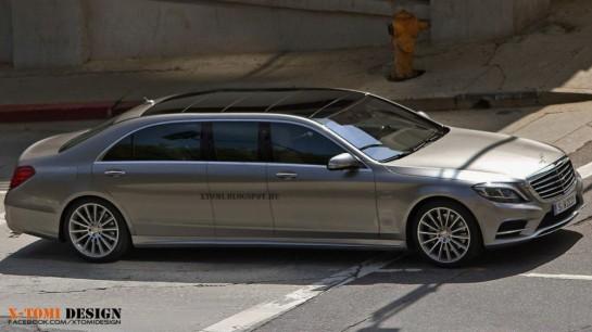Mercedes разработал замену Maybach.