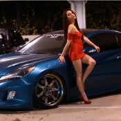 tia morales genesis coupe 5 175x175 at Tia Morales & Hyundai Genesis Coupe   Video and Gallery