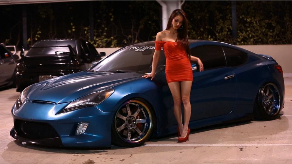 Tia Morales amp Hyundai Genesis Coupe Video and Gallery Motorward