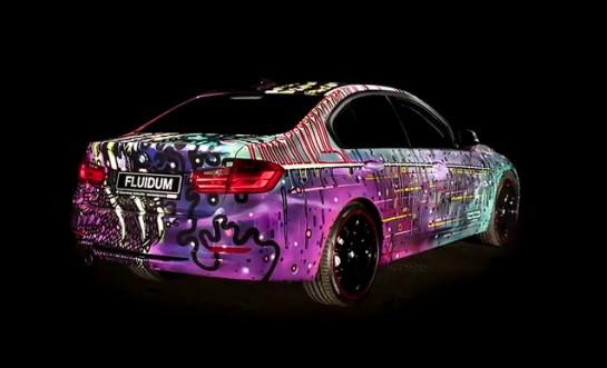 BMW 3 Series FLUIDUM Art Car 4 545x331 at BMW 3 Series FLUIDUM Art Car by Andy Reiben