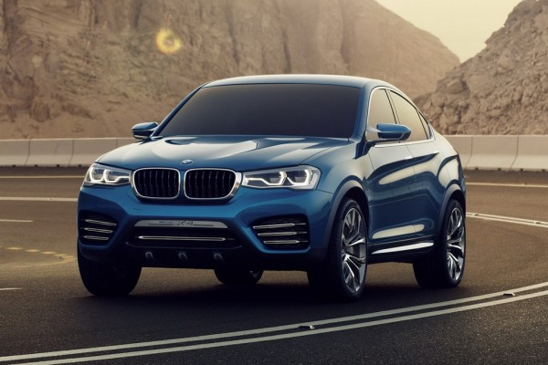 BMW X4 Concept 1 600x400 BMW X4 Concept  New Photo Gallery