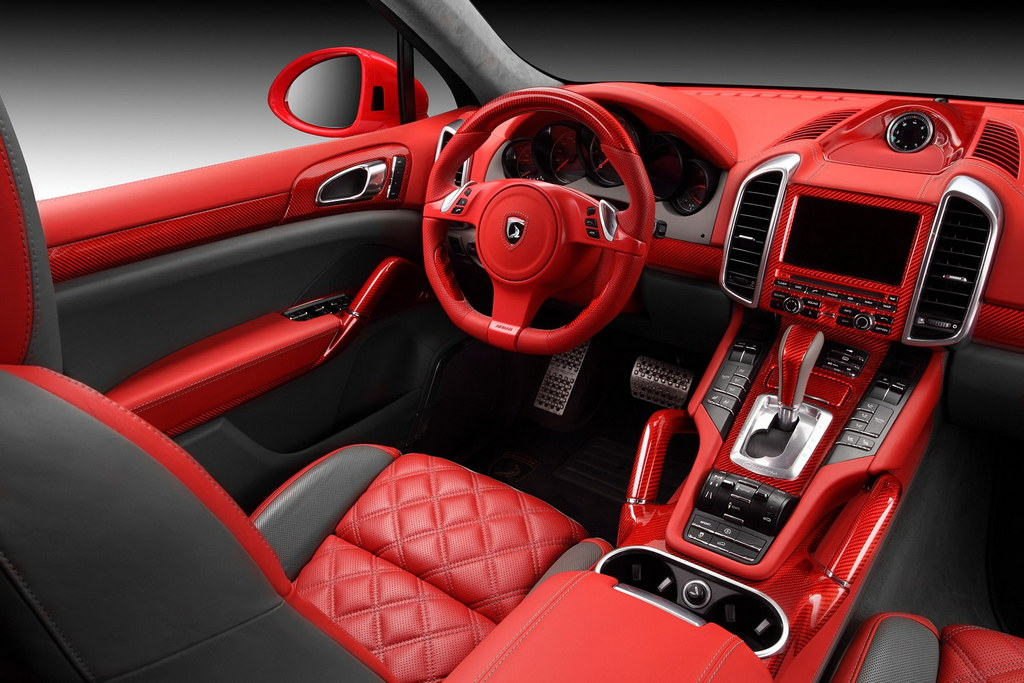 porsche cayenne vantage 2 red dragon by topcar. Black Bedroom Furniture Sets. Home Design Ideas